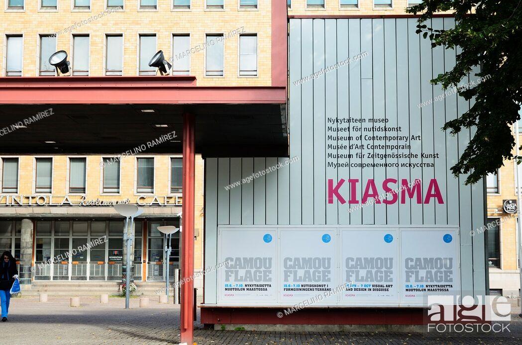 Imagen: Kiasma is a contemporary art museum located on Mannerheimintie in Helsinki, Finland.