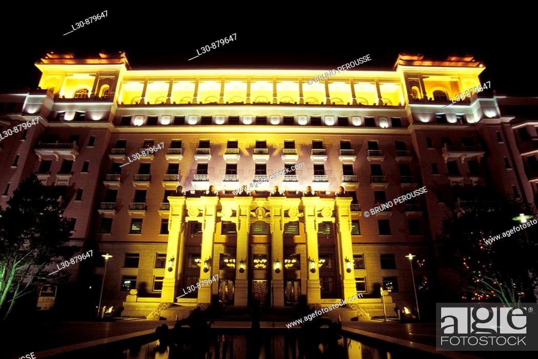 Stock Photo: Beijing Hotel, Beijing, China.