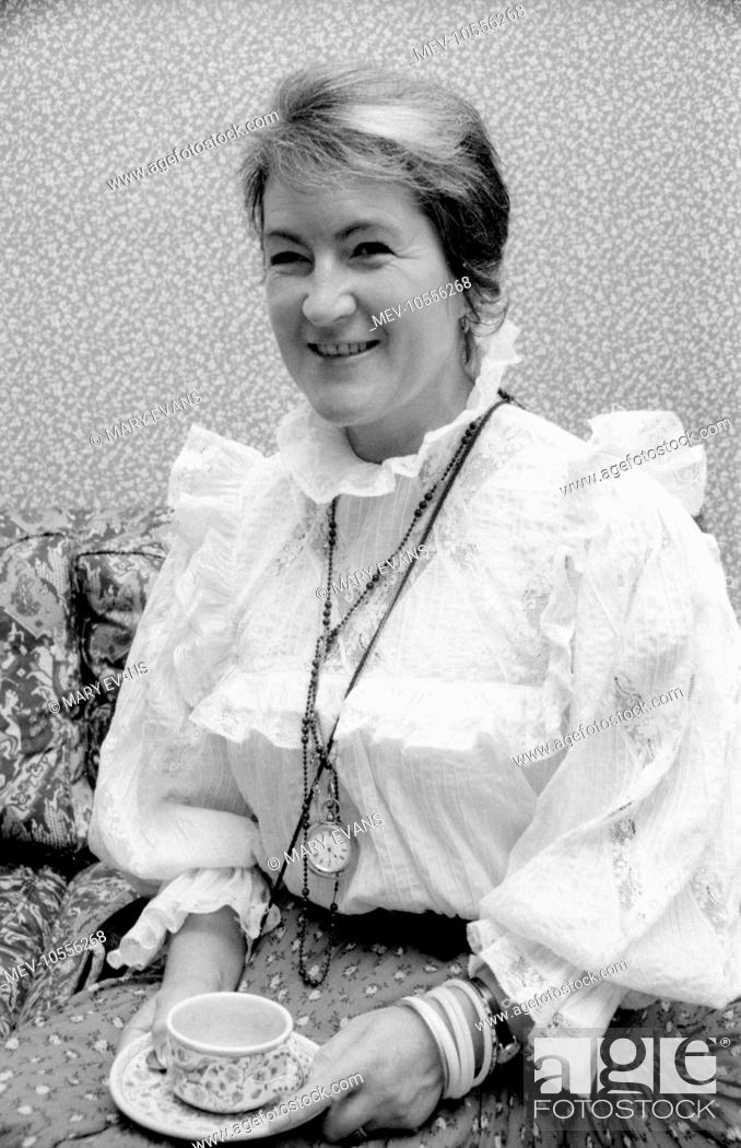 Laura Ashley 1925 1985 Welsh Fashion Designer Businesswoman And Founder Of The Chain Of Laura Stock Photo Picture And Rights Managed Image Pic Mev 10556268 Agefotostock