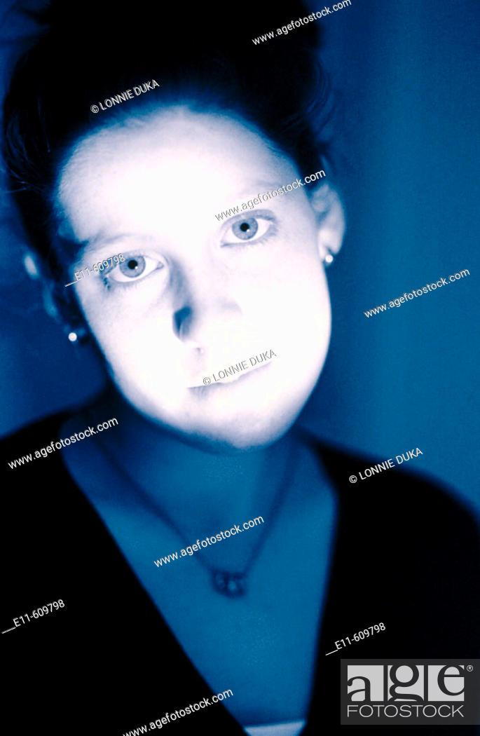 Stock Photo: Teen girl.