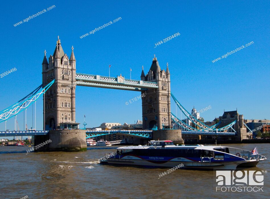 Imagen: Tower Bridge in London.