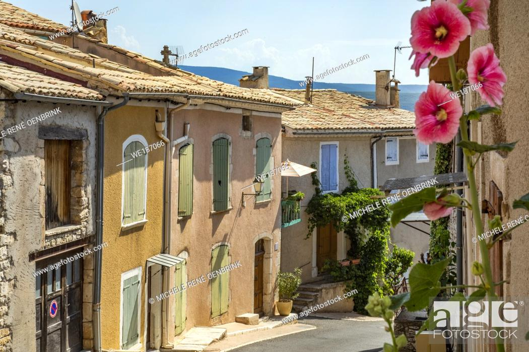 Stock Photo: Banon, Provence France, Alpes-de-Haute-Provence in the Provence-Alpes-Côte d'Azur region of south-eastern France, .