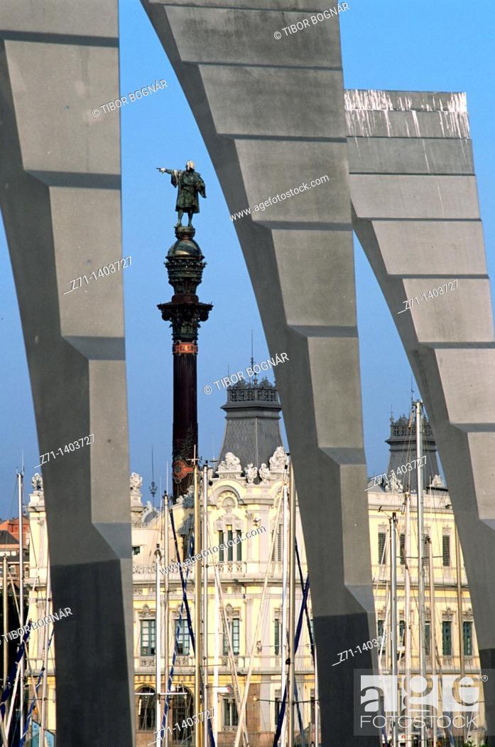 Stock Photo: Spain, Catalonia, Barcelona, Port Vell,.