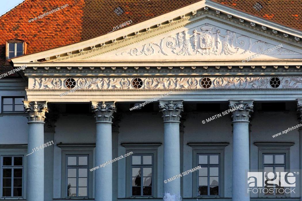 Stock Photo: Bismarckplatz, Regensburg, Upper Palatinate, Bavaria, Germany.