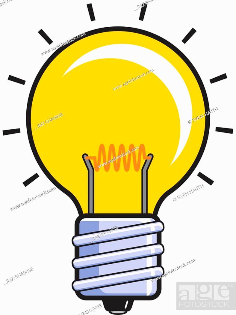 Stock Photo: Lightbulb.