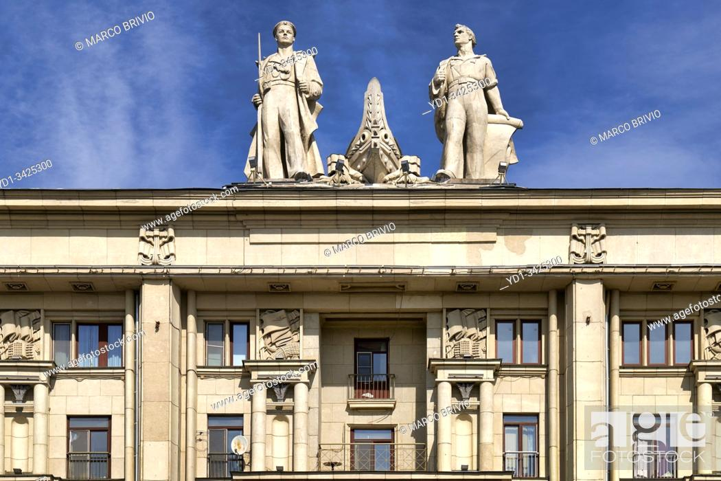 Stock Photo: St. Petersburg Russia. Royal Storerooms building.