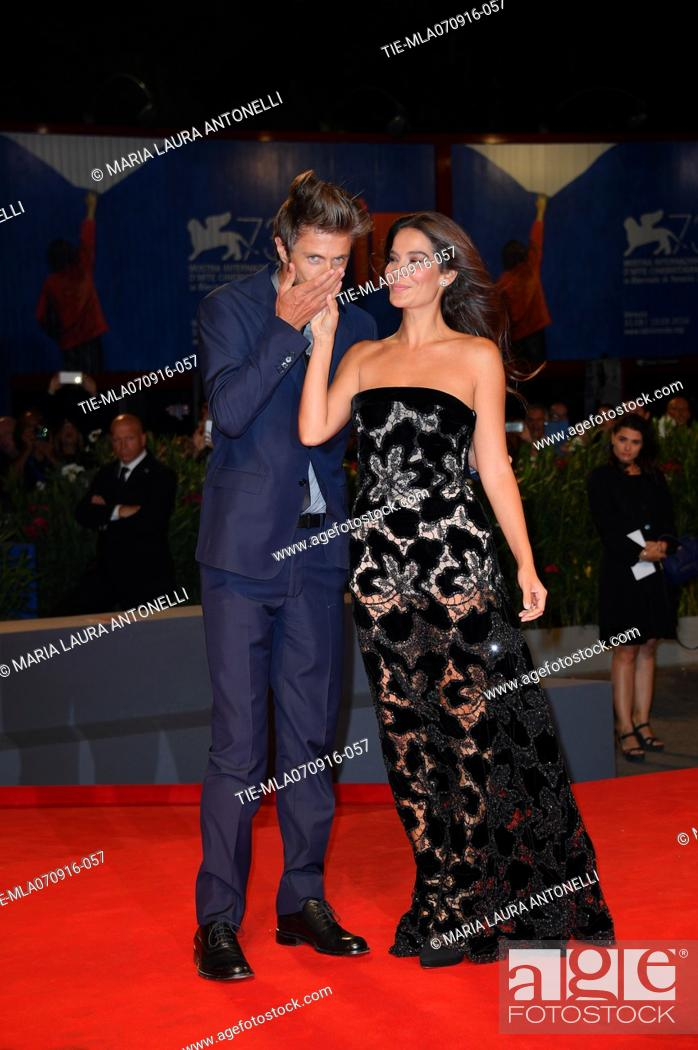 Stock Photo: The director Kim Rossi Stuart and Ilaria Spada during the red carpet of film Tommaso at 73rd Venice Film Festival, Venice, ITALY-06-09-2016.