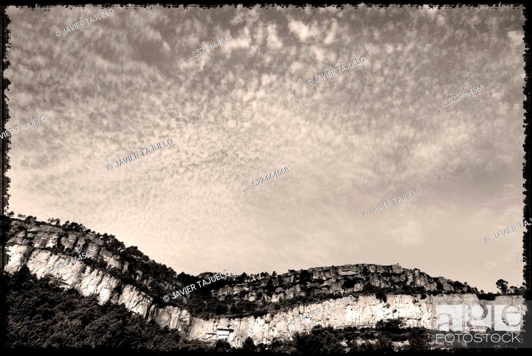 Stock Photo: Chera. Valencia province, Comunidad Valenciana, Spain.