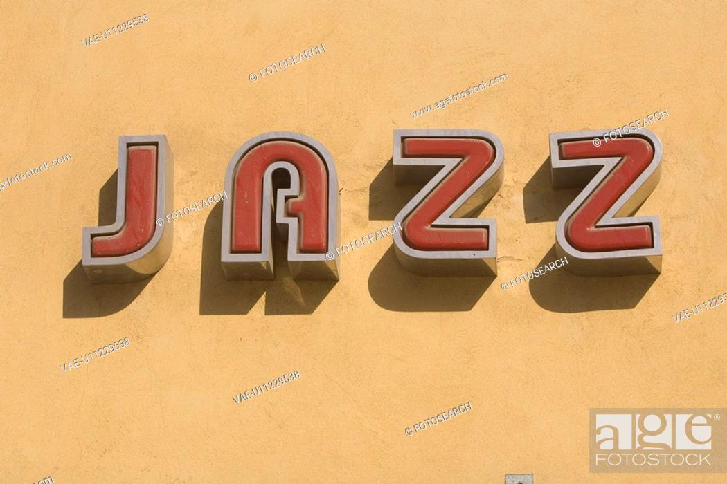 Stock Photo: Capital Letter, Close-Up, Colored Background, Day.