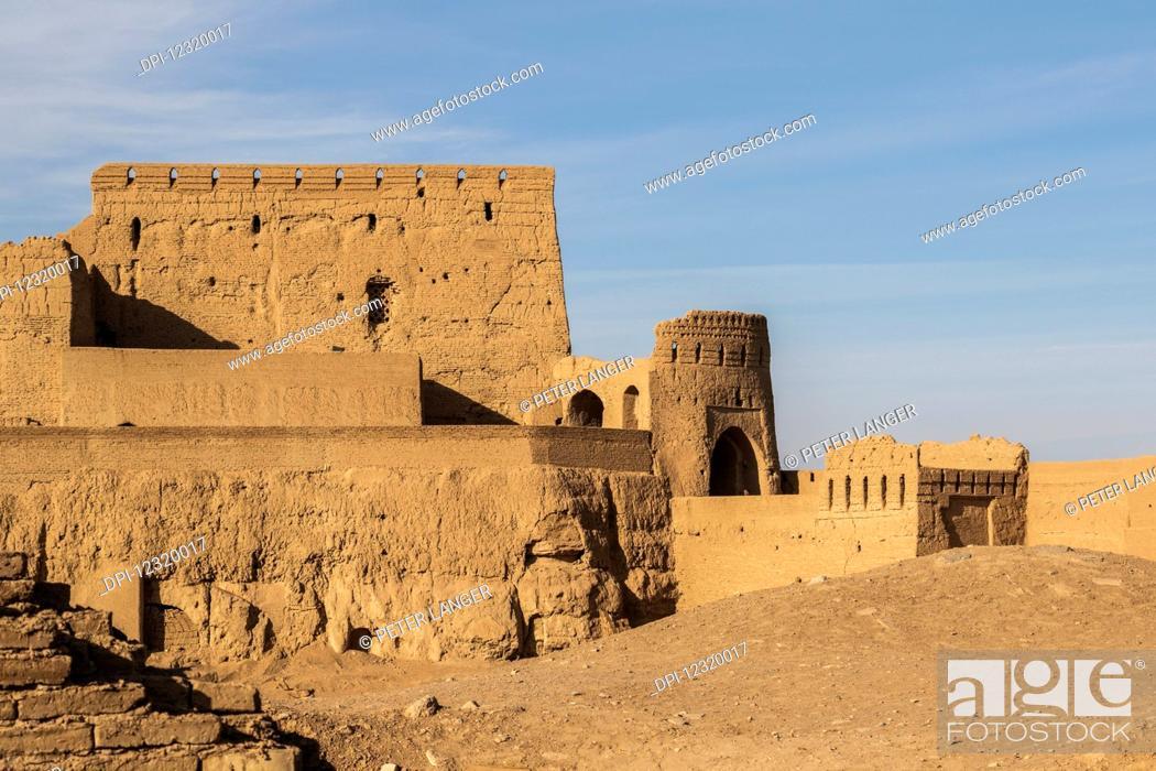 Stock Photo: Narin Qal'eh Castle; Meybod, Yazd Province, Iran.