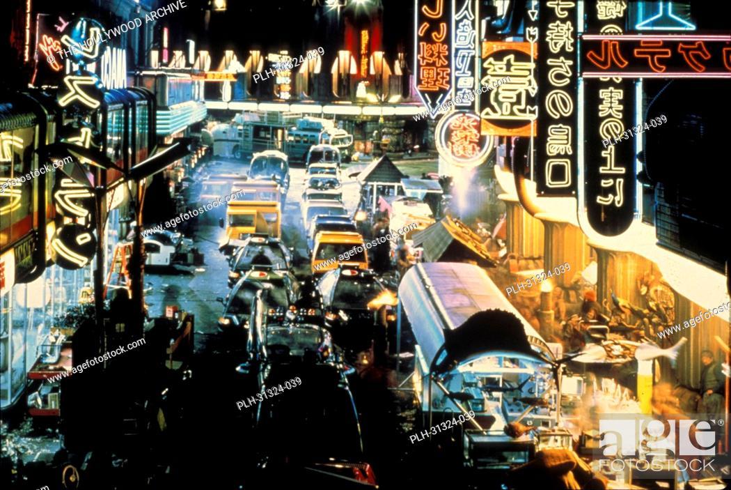 Stock Photo: Blade Runner 1982 Scene Still.