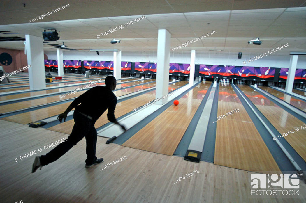 Stock Photo: Bowling.