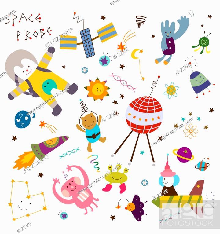 Stock Photo: Space Exploration.