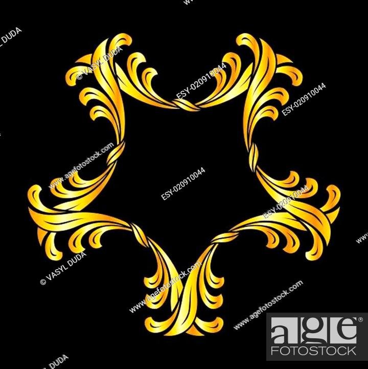 Stock Vector: Floral pattern.