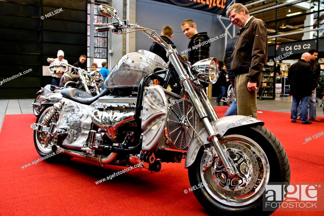 Third place in Best Cruiser motorbike at Scandinavian Custom