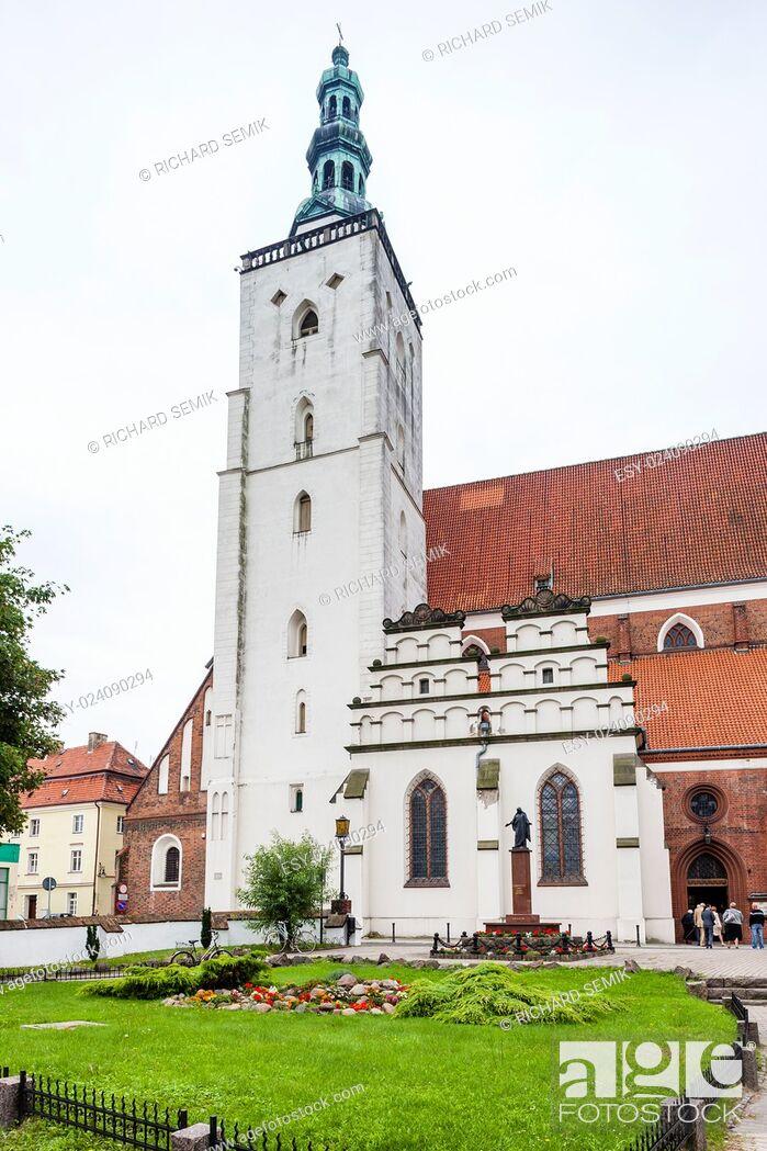 Stock Photo: Basilica of Saint John, Olesnica, Lower Silesia, Poland.