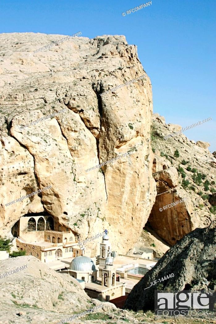 Stock Photo: Syria - St-Thecla Church.