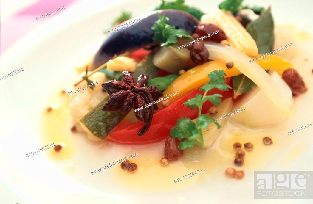 Stock Photo: Vegetable Dish.