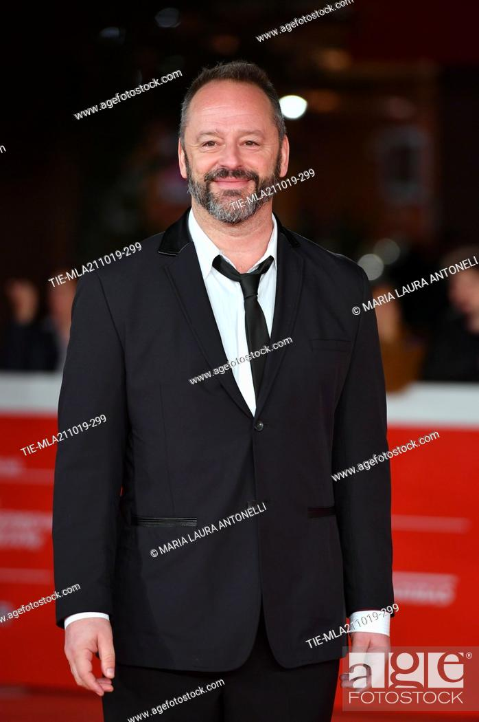 Imagen: Gil Bellows poses during the red carpet for 'Drowing' at the 14th annual Rome Film Festival, in Rome, ITALY-20-10-2019.