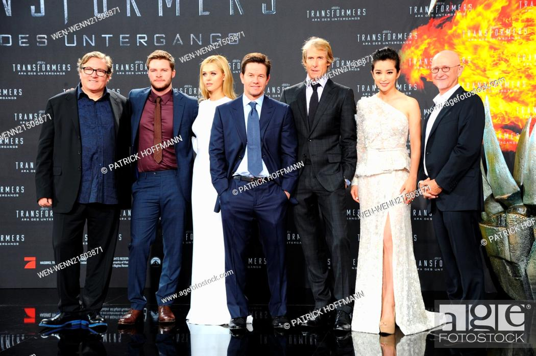 Photo de stock: European premiere of \Transformers 4 - Aera des Untergangs (Transformers: Age of Extinction)\ at Cinestar am Potsdamer Platz movie theater.