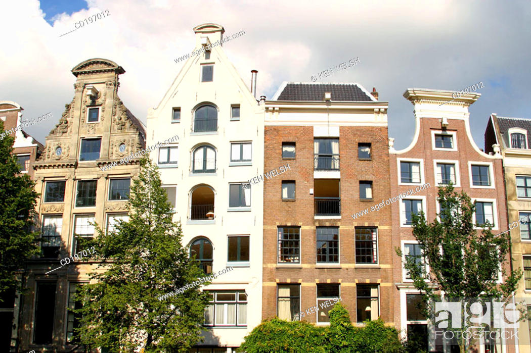 Stock Photo: Architecture. Amsterdam. Holland.