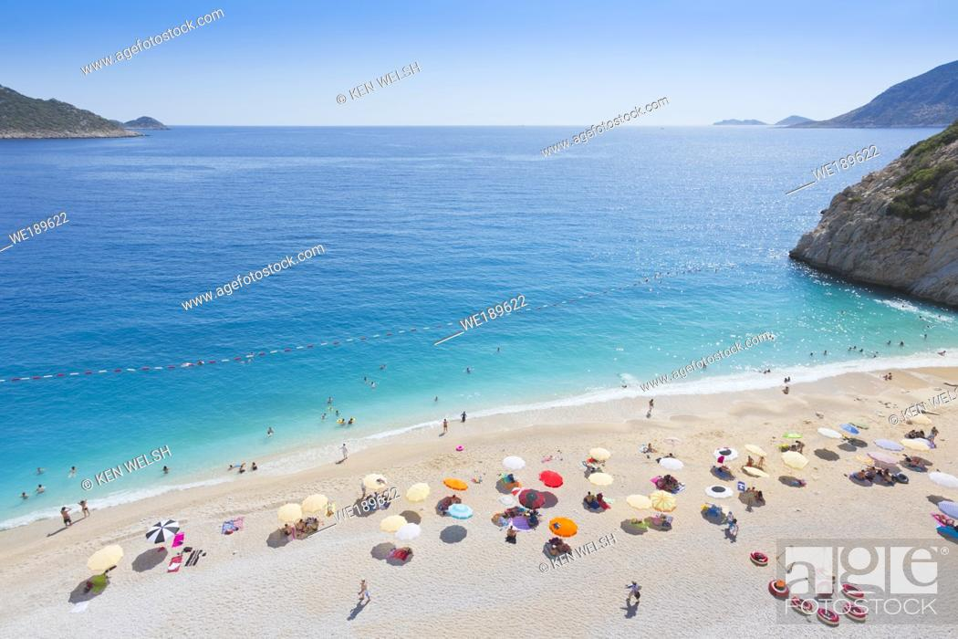 Photo de stock: Kaputas beach near Kalkan, Antalya Province, Turkey.