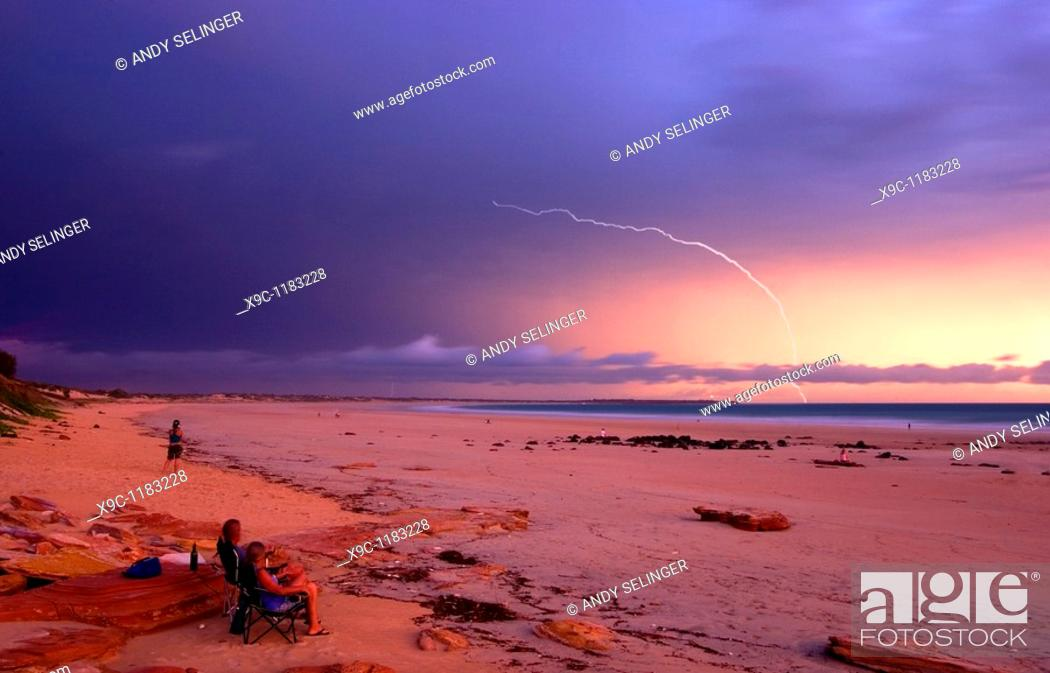 Stock Photo: Cable Beach, Broome, Western Australia.