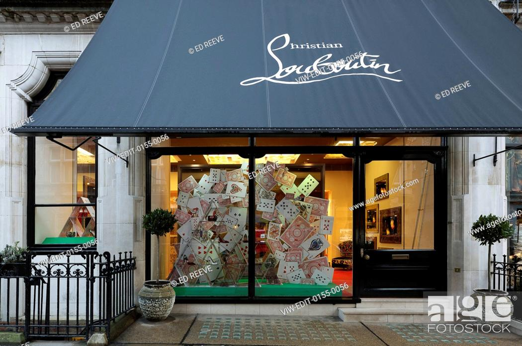 147f505acd0 View of the entire store. Christian Louboutin, Mount Street, London ...