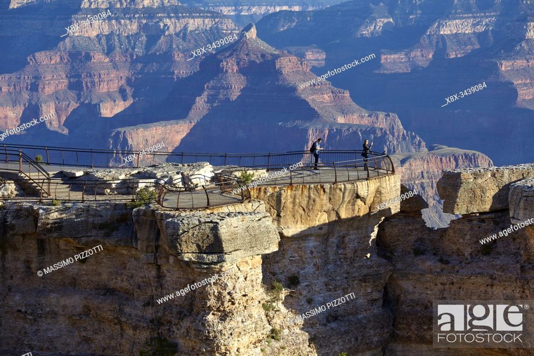 Stock Photo: South Rim of Grand Canyon, Arizona, United States.