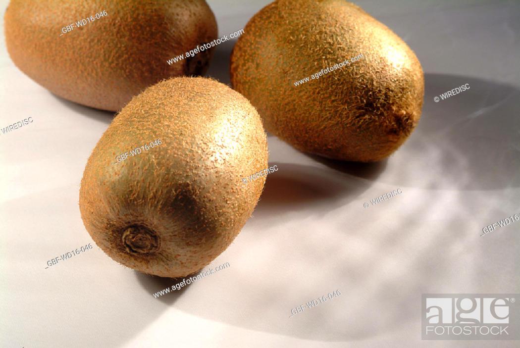 Stock Photo: Food, fruit, kiwi.