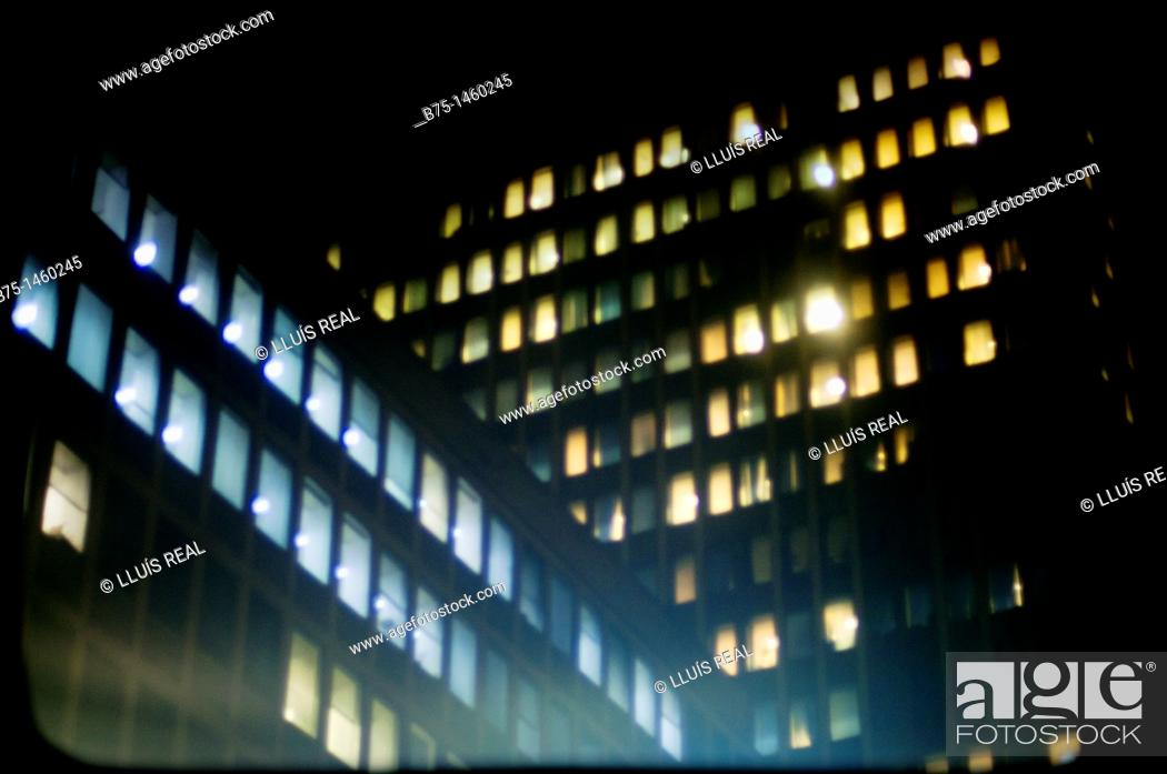 Stock Photo: Business buildings in the City, London, England, UK.