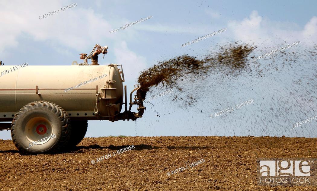 Stock Photo: Farmer , feature , switzerland.