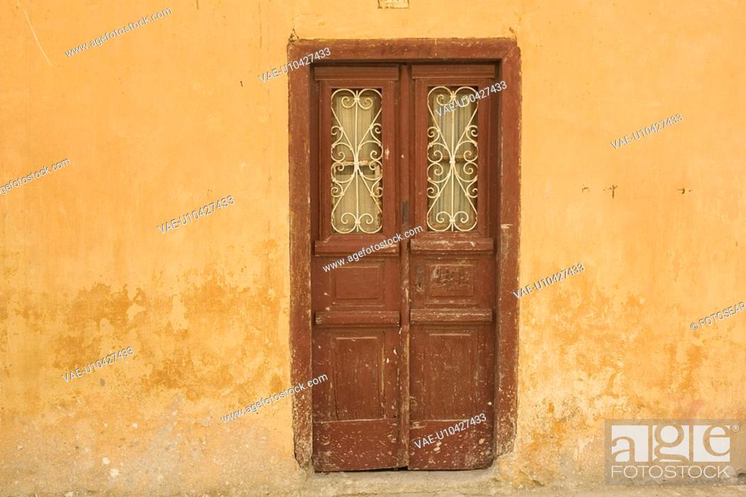 Stock Photo: Brown, Building Exterior, Building Structure, Curtain, Day.