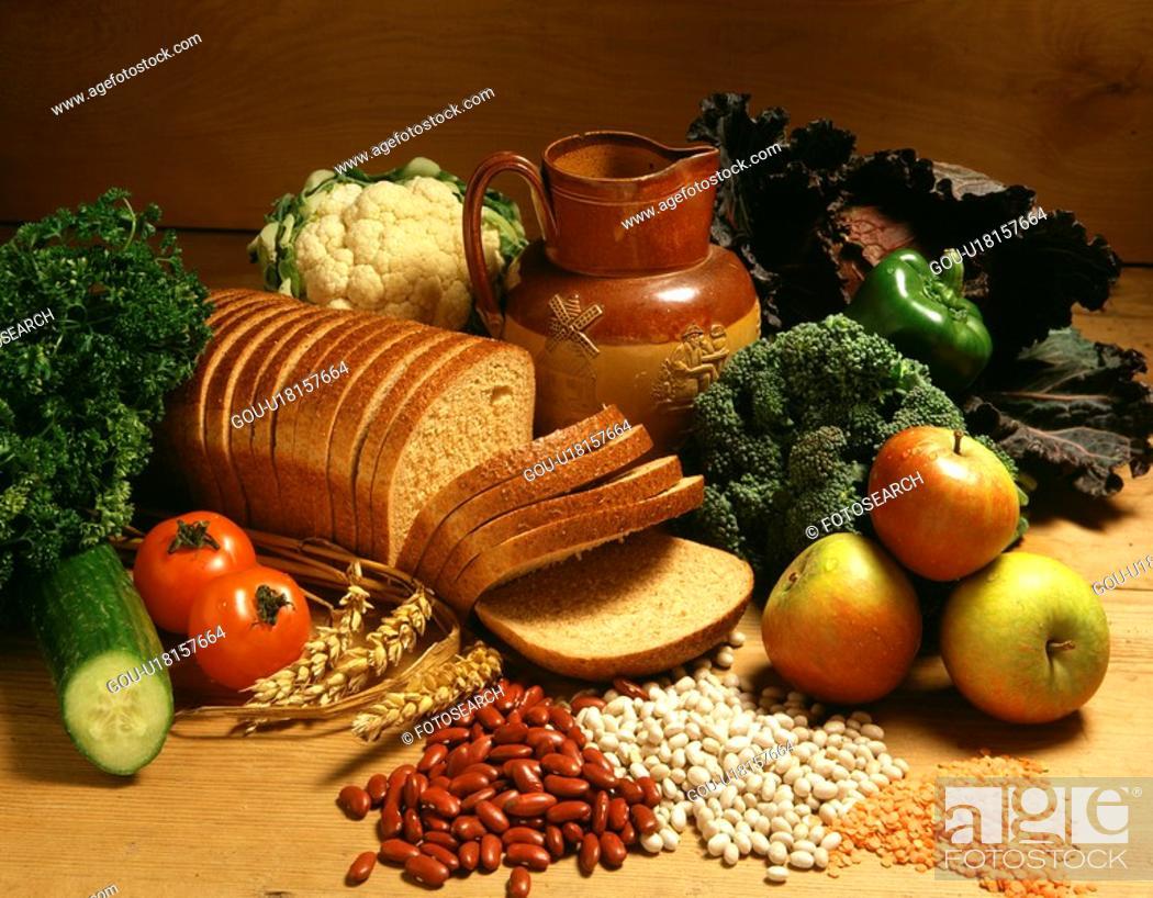 Stock Photo: Bread.