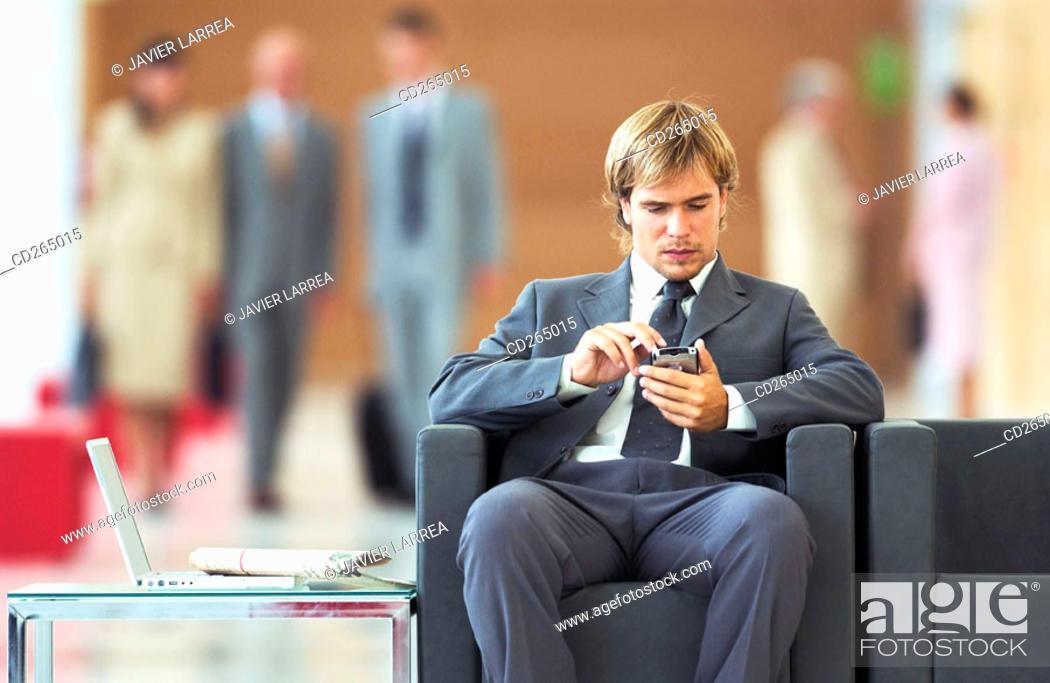 Stock Photo: Man.