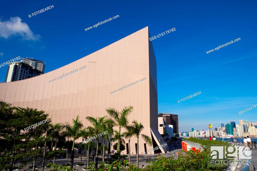 Stock Photo: Hong Kong Cultural Centre, Hong Kong, China.