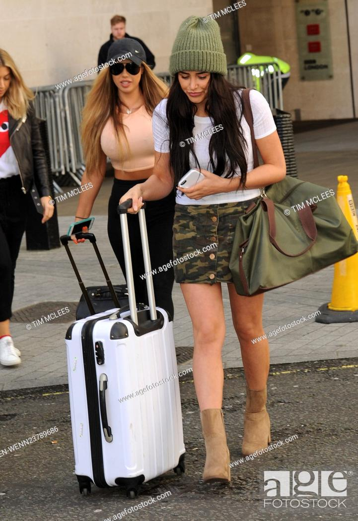 Geordie Shore Stars Holly Hagan And Marnie Simpson Leaving The Bbc