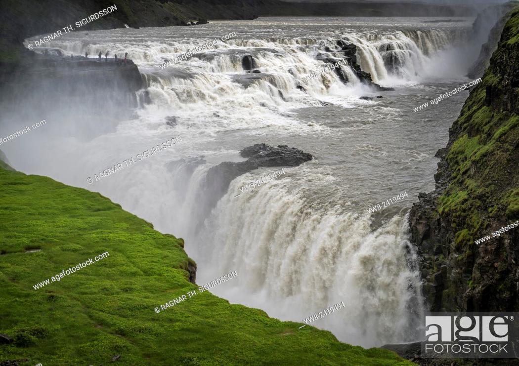 Gullfoss Waterfall Iceland Translated