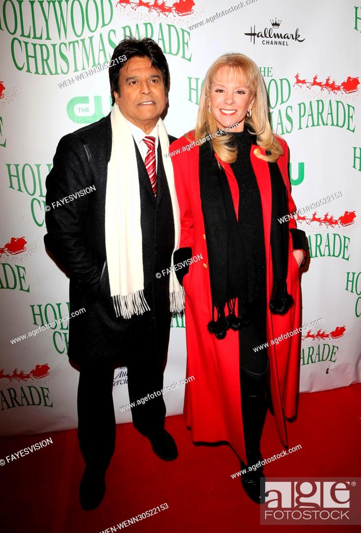 The Christmas Parade Hallmark.Erik Estrada And Laura Mckenzie Attending The 85th Annual Hollywood