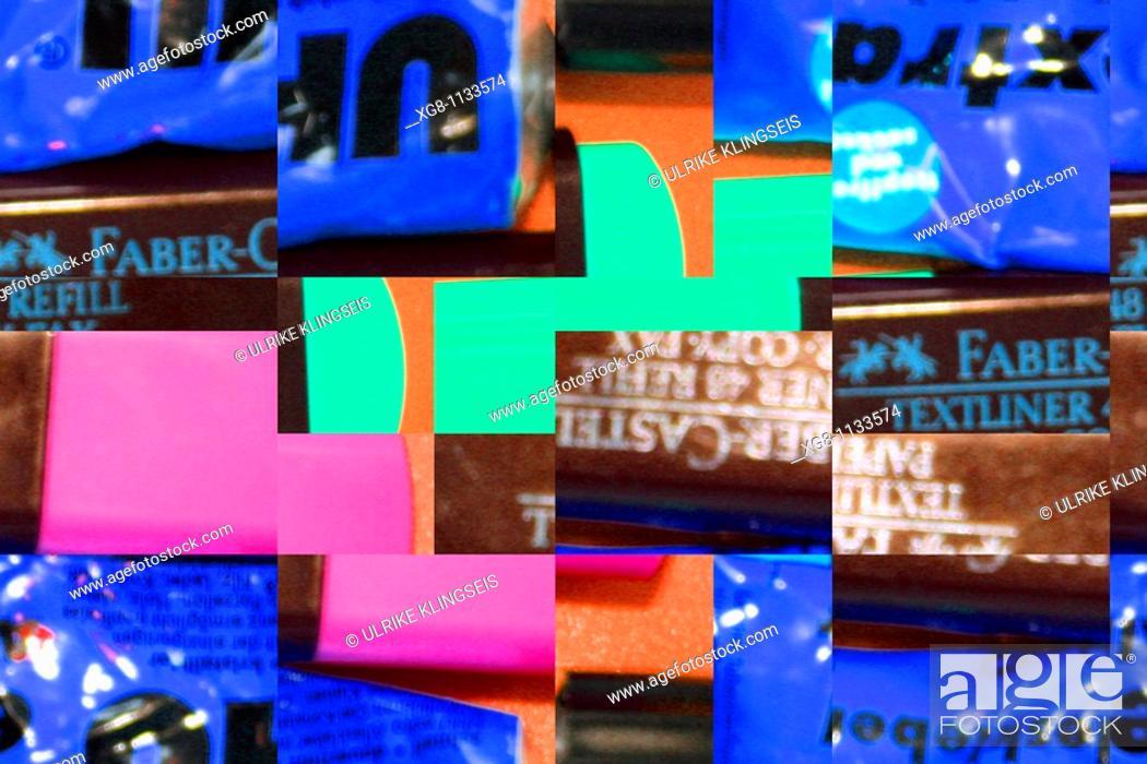 Stock Photo: unique collage.