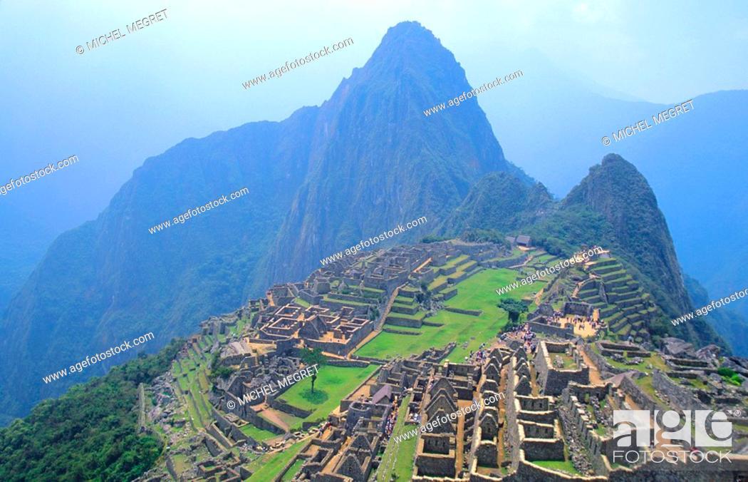 Stock Photo: Peru - Machu Picchu.