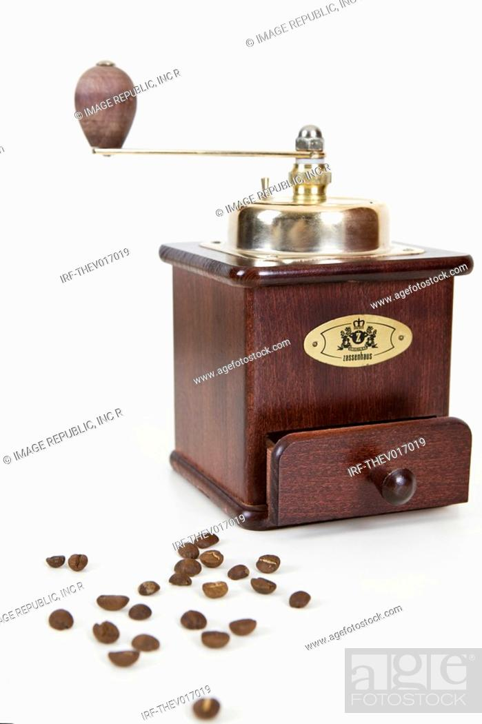 Stock Photo: coffee mill.
