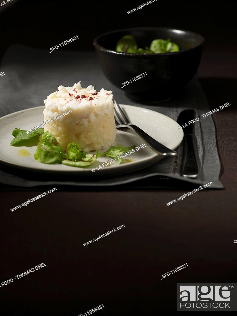 Brandade De Morue Salt Cod Puree France Stock Photo Picture And