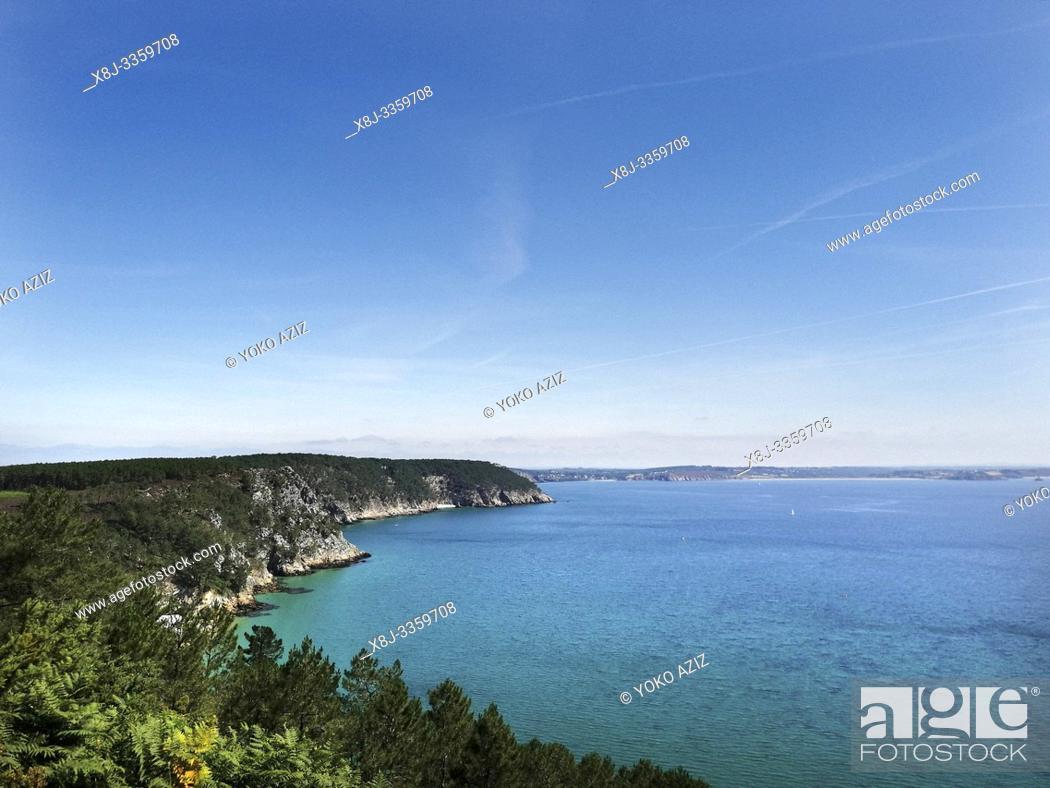 Stock Photo: France, Finistere, Crozon, Ile Vierge.