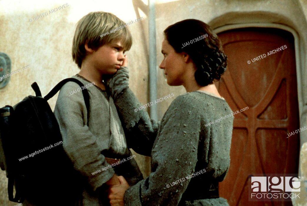 Stock Photo: Star Wars: Episode 1- Die Dunkle Bedrohung, Star Wars: Episode I The Phantom Menace, Star Wars: Episode 1- Die Dunkle Bedrohung.