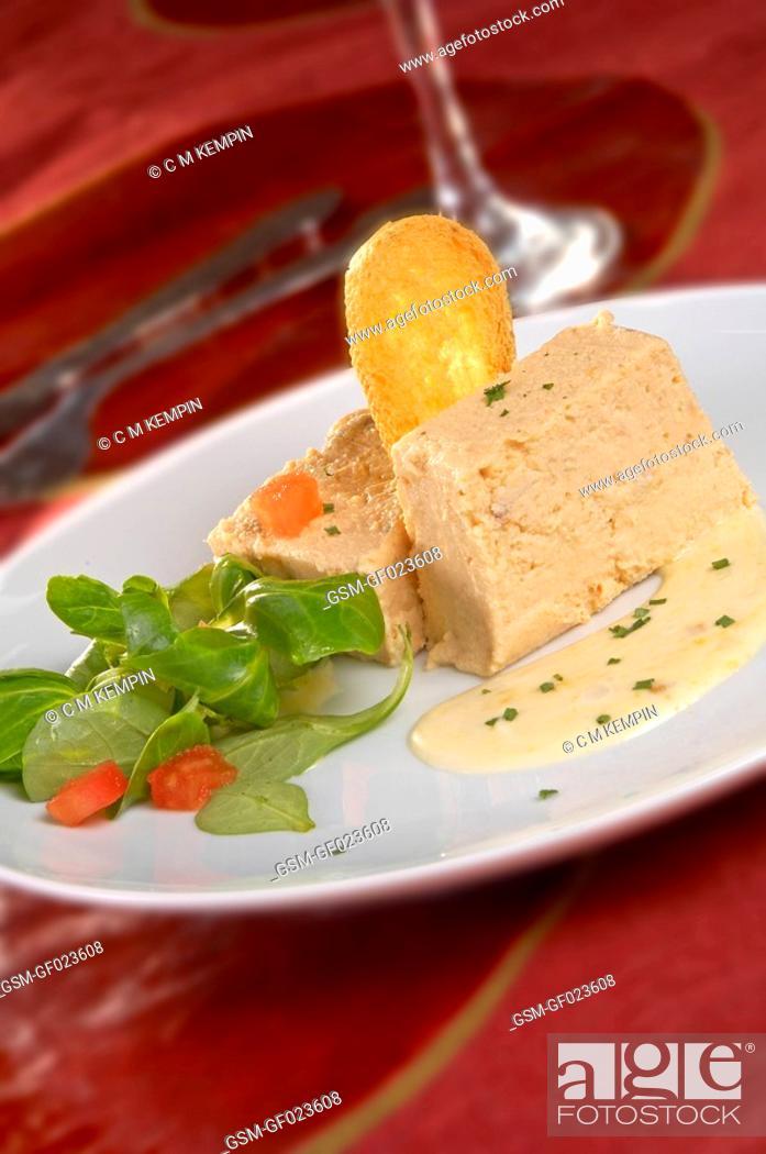 Imagen: Fish pudding with orange mayonnaise.