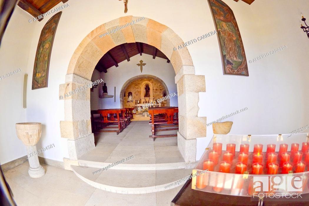 Imagen: Chapel of San Roque, 16th Century, Mirador de San Roque, Viveiro, Lugo, Galicia, Spain, Europe.