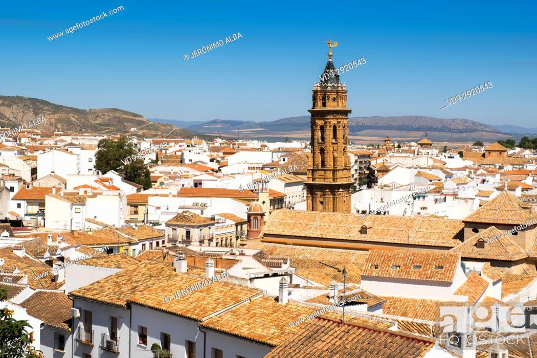 Stock Photo: Monumental city of Antequera. Málaga province. Andalusia, Southern Spain Europe.