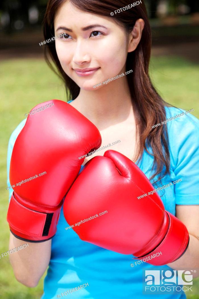 Stock Photo: Boxing-exercise.