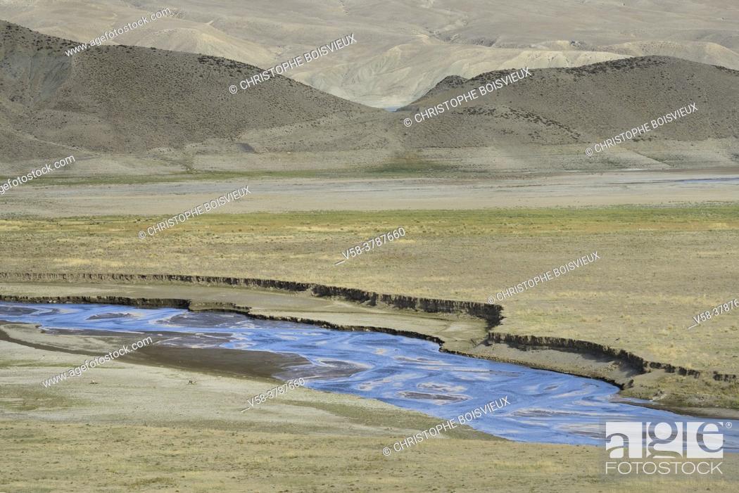 Stock Photo: Iran, West Azerbaijan province, Maku region, Zangmar River.